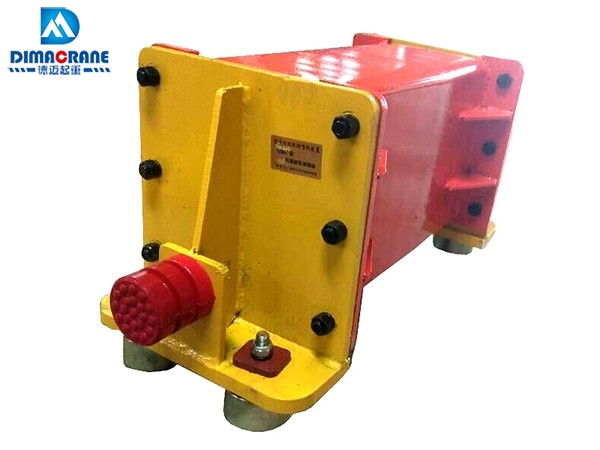 Derailing-proof Device for Overhead Crane