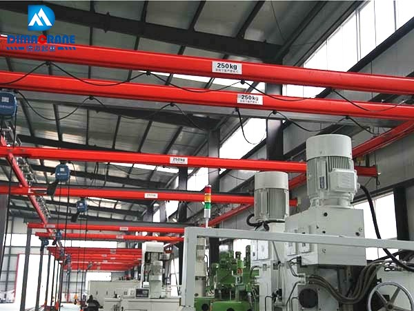 KBK model Single Beam Suspension Ergonomic overhead Cranes