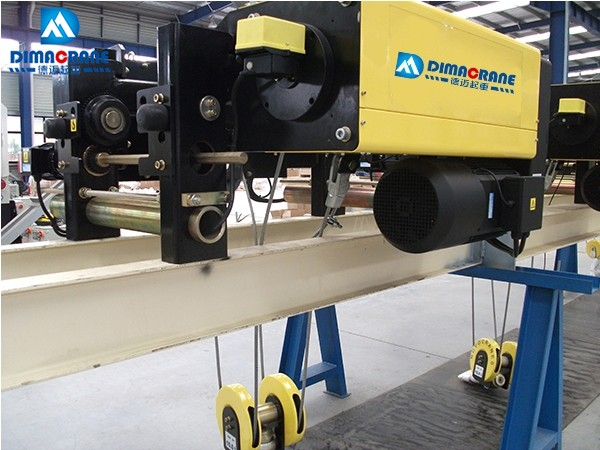 10 ton Europe style single girder electric hoists