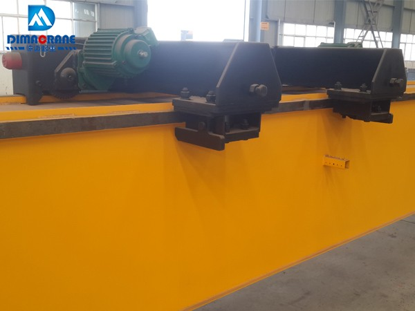 5 ton Europe style single girder overhead crane with super low headroom hoists