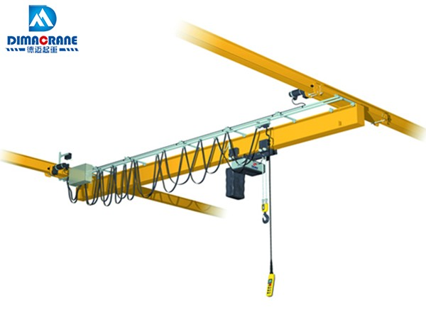 Europe style suspension electric overhead traveling cranes