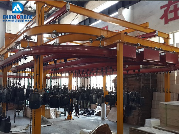 Monorail Suspension Overhead Crane