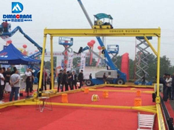2 ton smart gantry crane