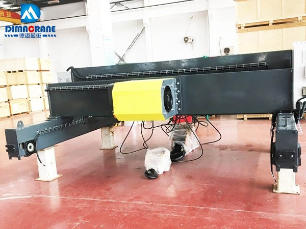 Goods in stock big sale 5500-5900usd 10T18M double girder electric wire rope hoist trolley Europe style