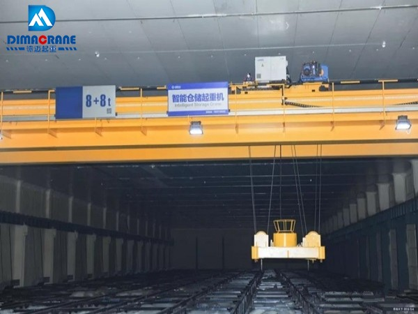 Smart automation overhead bridge Crane in Intelligent Storage
