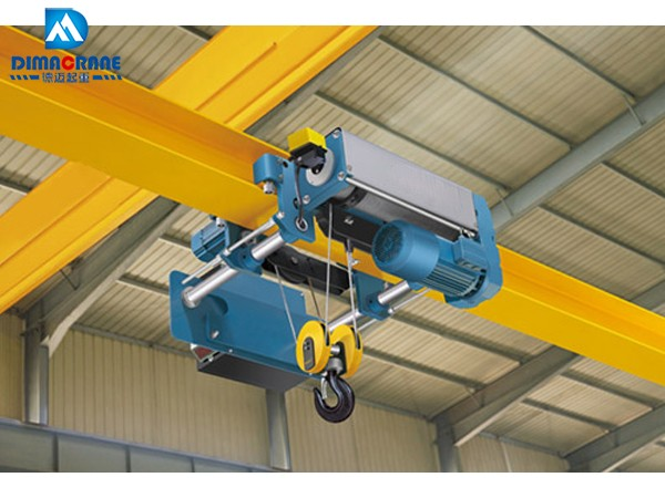 DR-RK (Pro) Demag style Europe wire rope single girder beam monorail electric hoist