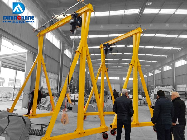 mini gantry crane