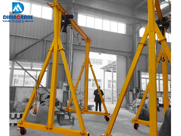 small 1 ton gantry crane