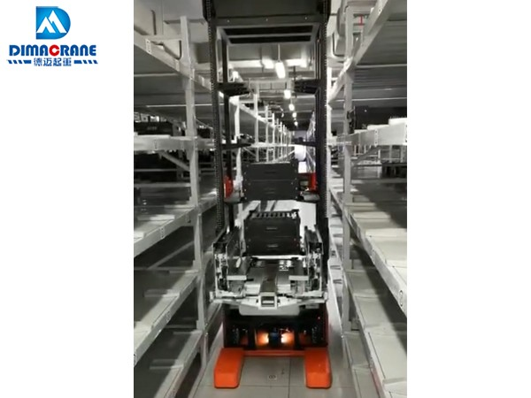 100 kg 50kg smart intelligent AGV robot Automated Guided Vehicles  Stacking Picking machine price for sale