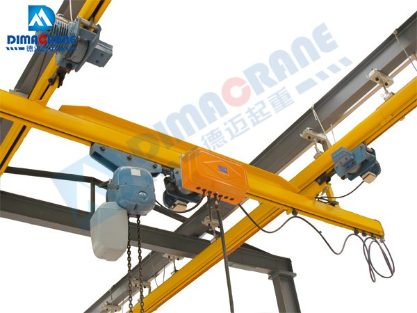 KBK Single Girder Suspension Overhead Crane with Electric travelling