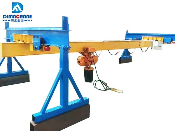 2 ton Europe style suspension overhead cranes