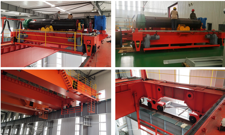 250 ton Europe style double girder beam electric overhead traveling eot bridge crane for sale price