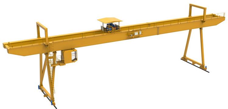 20 ton 25 ton double Girder beam Gantry crane Goliath for sale factory price