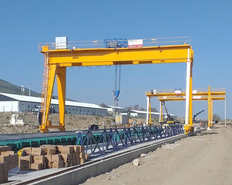 MG model double girder Gantry Crane Goliath Crane Europe style