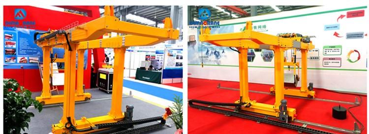 Double Girder Gantry Crane for Subway Slag(double suspension)special door machine