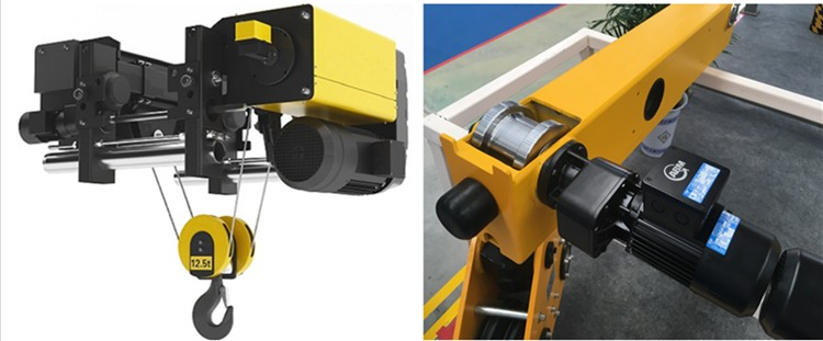 Europe style 360°Wall mounted travelling slewing jib crane 5 ton with Anti-derailment device 360