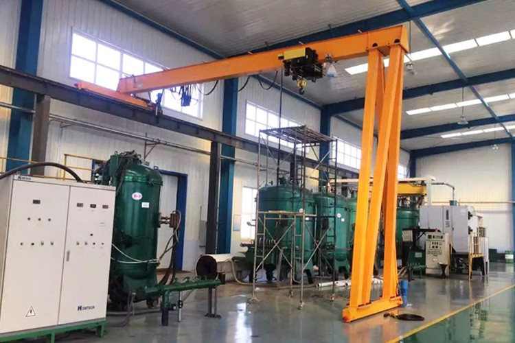 2 ton trackless gantry cranes