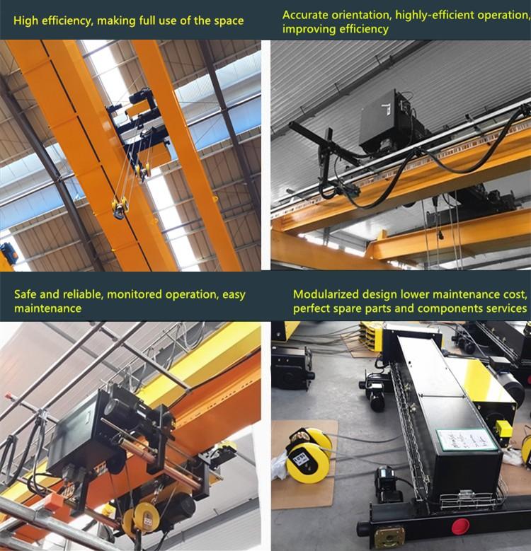 20 ton Europe style double girder electric hoists