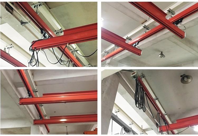 KBK Single beam Manual travelling Suspension Overhead Crane