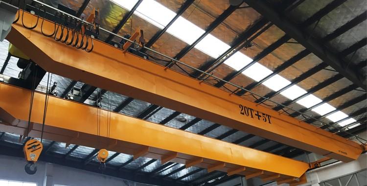 20T+5T Overhead Crane