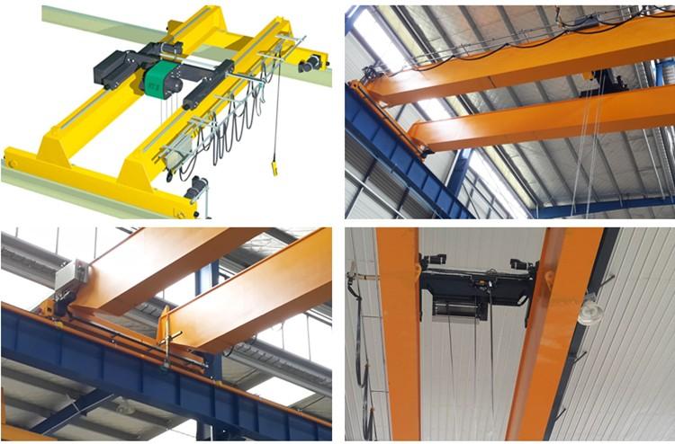 10 ton 10 m double girder beam overhead bridge EOT crane