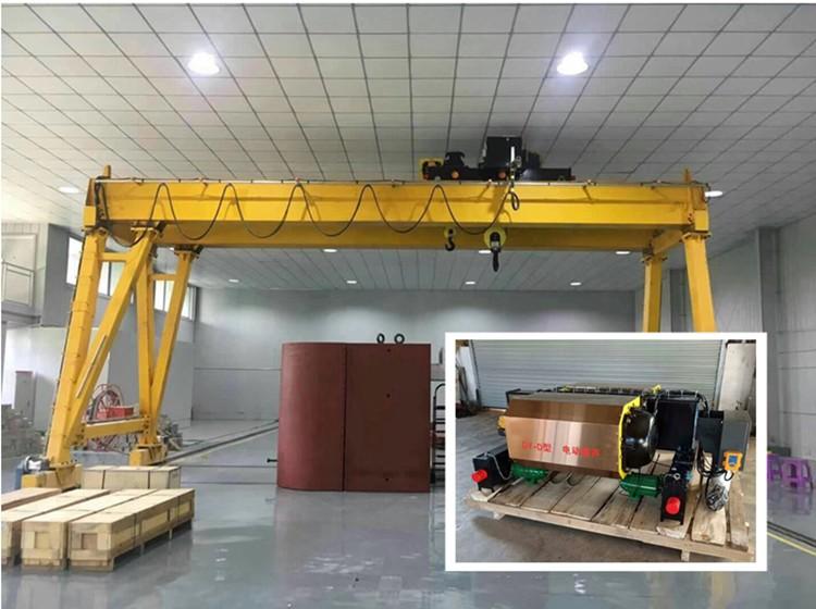 16/5 ton double beam indoor goliath gantry crane in india