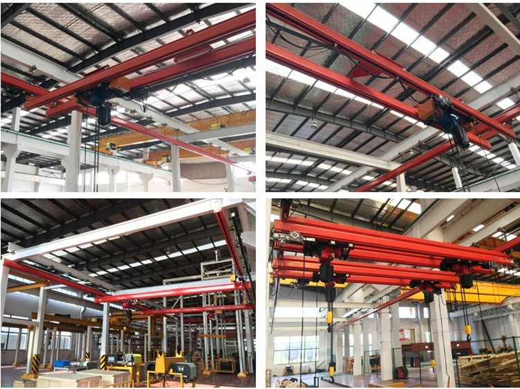 2 ton KBK UK40 rail large-tonnage overhead crane