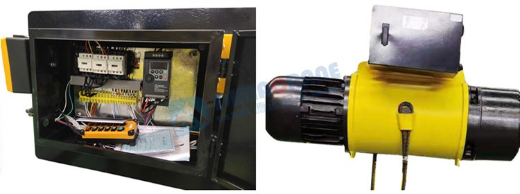 Top end CD / MD model electric wire rope hoist