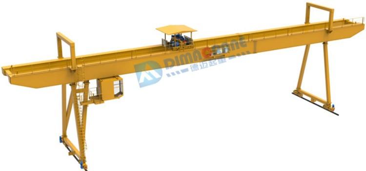MG model Double Girder Europe style Gantry crane