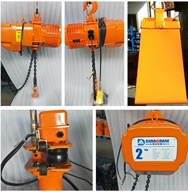 Kito style Electric chain hoist for Philippines customer