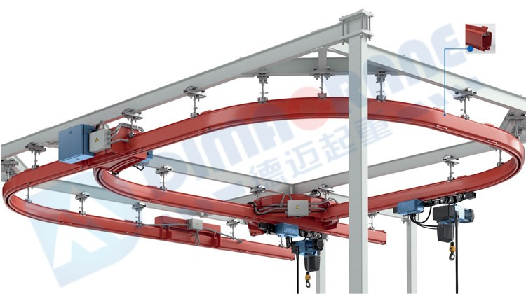 KBK Monorail Suspension Overhead Crane