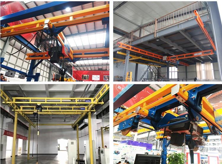 KBK rigid track overhead crane
