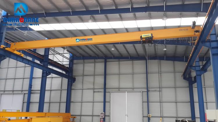 Euro-style single girder overhead cranes