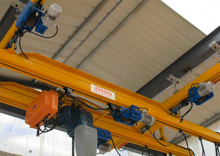 3.2 ton KBK Double Beam suspension Overhead Crane