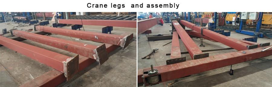 Euro-style railless semi gantry cranes