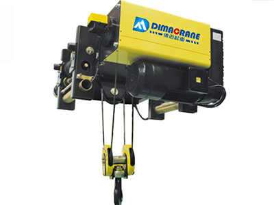 Europe style single girder electric hoist